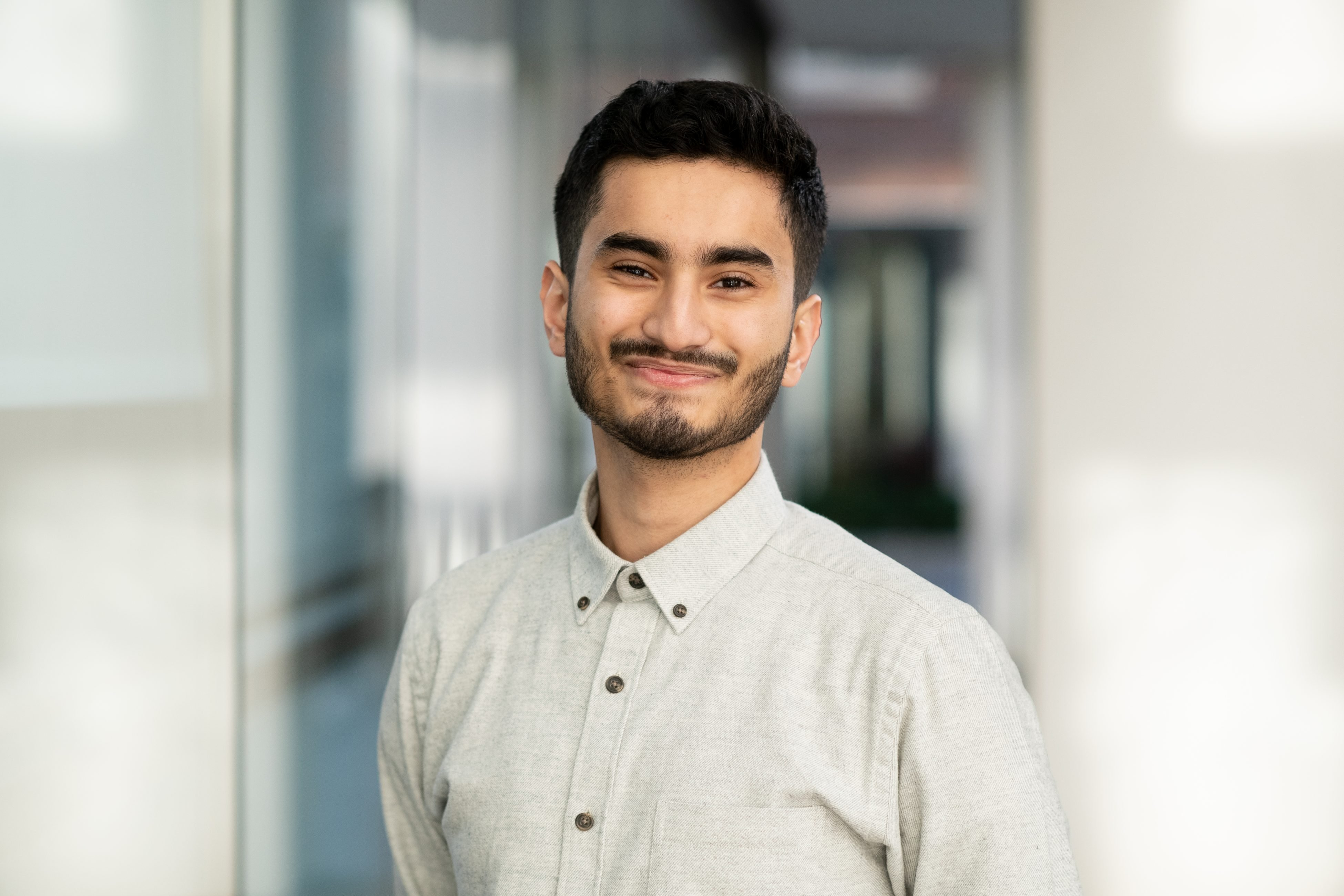 Amin Rahman, digital marketing apprentice